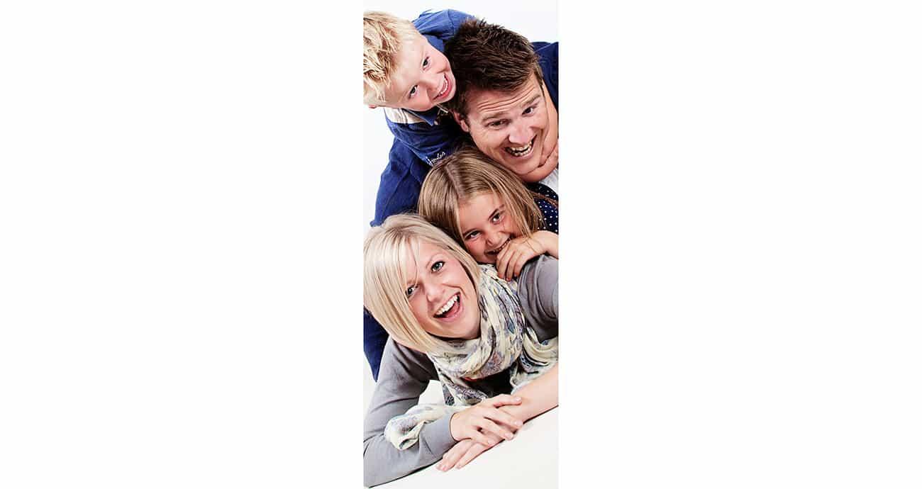 contemporary family portraiture