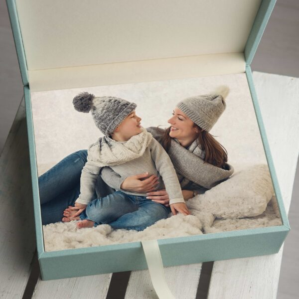 family photography folio box